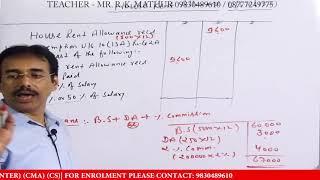 House Rent Allowance HRA Calculation & Taxability - Hindi Video House Rent Allowance Tax Rebate