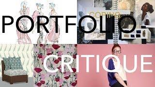 Critiquing 4 Portfolios