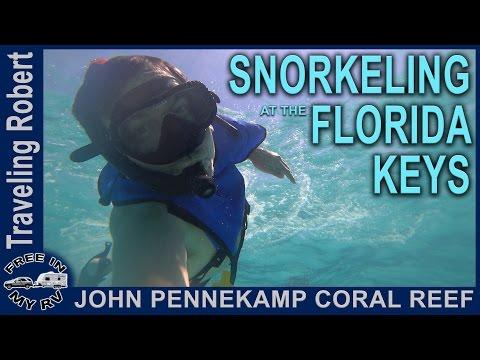 Snorkeling at the Florida Keys, Key Largo, Florida | Traveling Robert