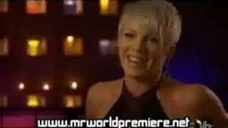 Pink talks about Christina Aguilera (beef)