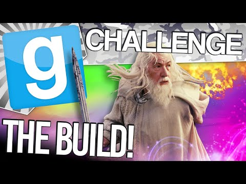 Gmod Build Challenge - Wizard Wars #1 (Garry's Mod Sandbox Funny Moments)