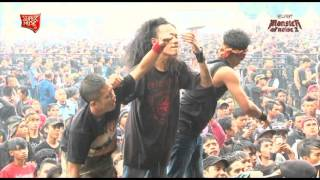 SUCKERHEAD - Jakarta ( Part.1 ) Live at HELLPRINT - MONSTER OF NOISE 2