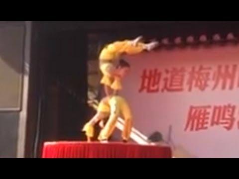 Amazing China Acrobats: Yanming Lake Holiday Resort (雁鸣湖旅游度假村)