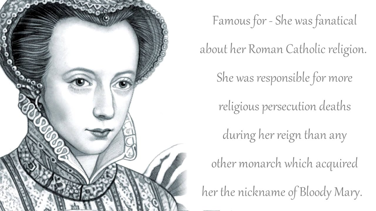 Queen Elizabeth 1 Of England Timeline Queen Mary I of...