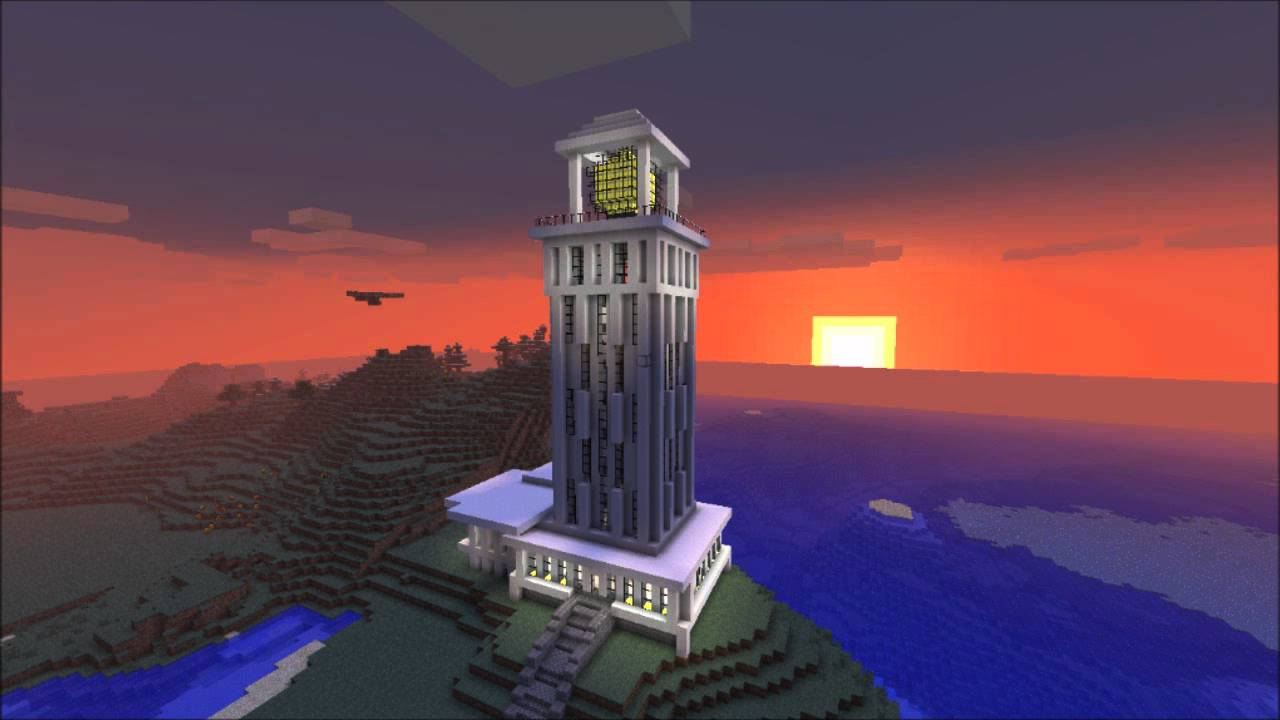 Minecraft Beacon Building
