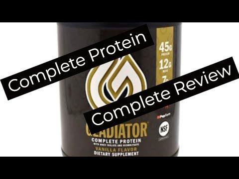 Smoothie King Gladiator Protein Vanilla Review