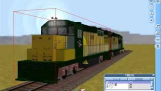 Railsim2 GP35 Sound Test