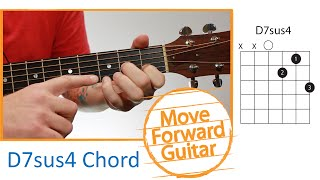 Guitar Chords for Beginners - D7sus4