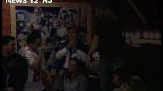 Giants Fans Celebrate After Green Bay Game!
