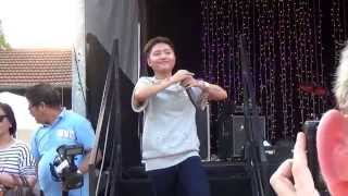 Charice in Paris part 4 - Through the fire