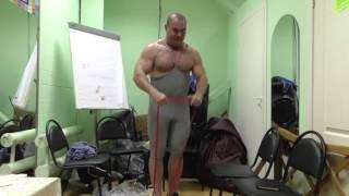 Виктор Степанов: разминка с резиновыми петлями R4P