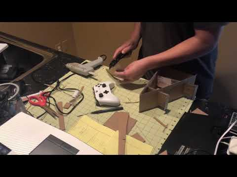 How to make a controller stand