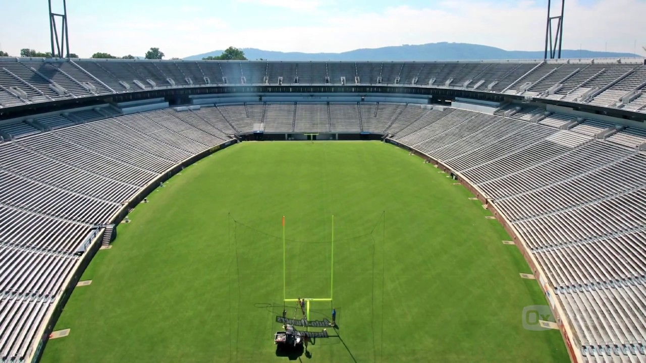 Uva Scott Stadium Field Renovation 2017