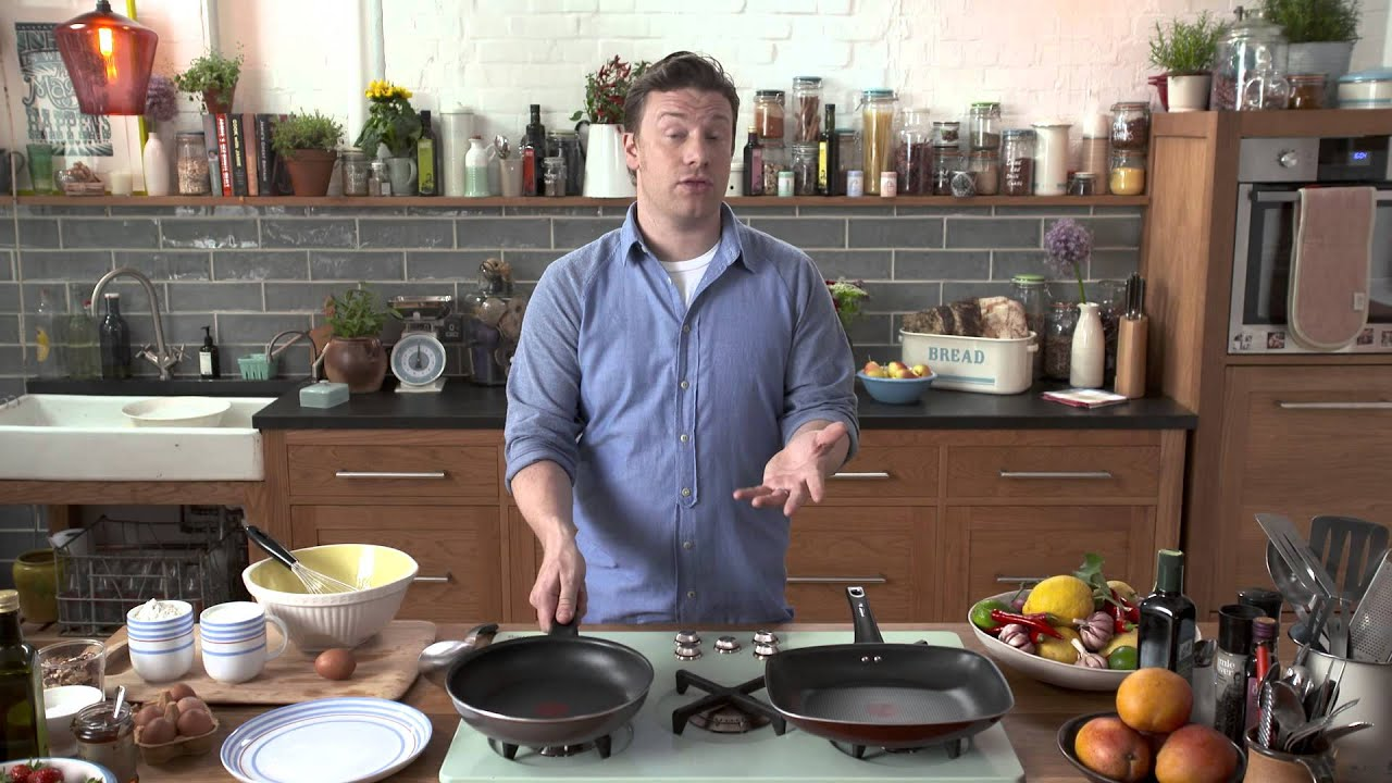 tefal jamie oliver 10 year anniversary enamel youtube. Black Bedroom Furniture Sets. Home Design Ideas