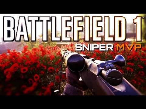 Battlefield 1: Sniper MVP on New Map Rupture - They Shall Not Pass DLC Gameplay
