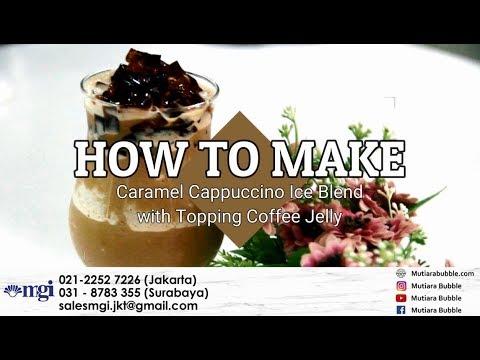 cara-membuat-caramel-cappuccino-ice-blend-dengan-topping-coffee-jelly