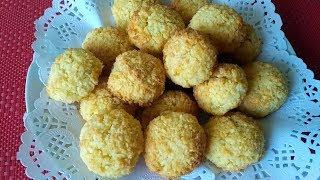 КОКОСАНКА  Супербыстрое Кокосовое печенье из трех ингредиентов,Простой рецепт!!!