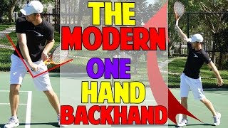 Tennis Backhand | The Modern One Hand Backhand