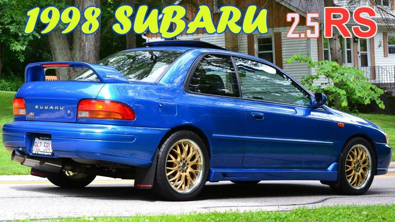 1998 Subaru Impreza 2 5rs Coupe 5 Speed Awd 27th Youtube