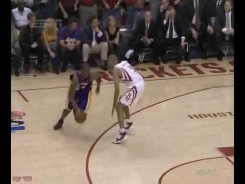 Shane Battier's defense on Kobe Bryant (2009 playoffs)