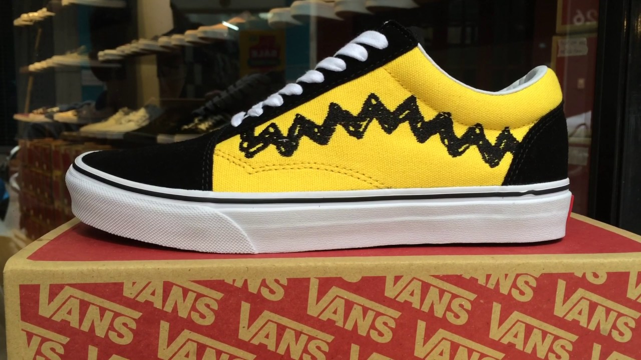 Vans old skool Peanuts - Real VNXK - YouTube 050179f62cd7