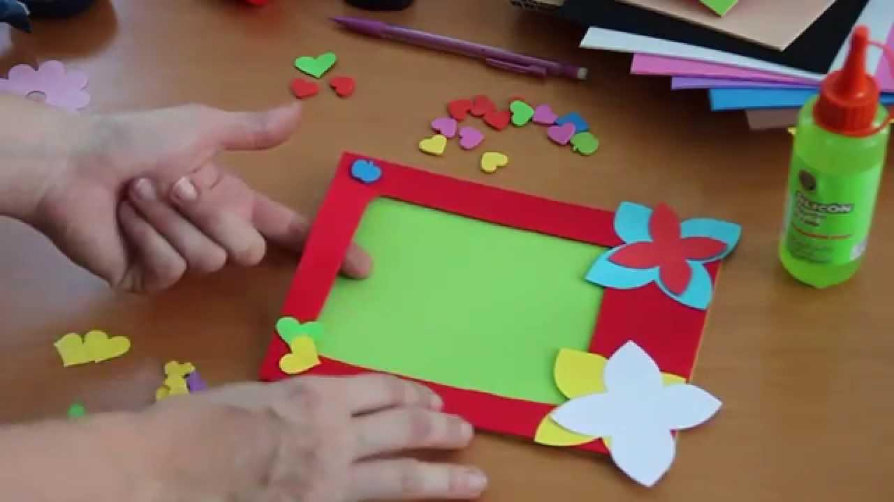 Nios DIY Libro electrnico Goma Eva 2 YouTube