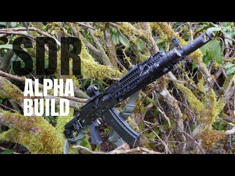 Russian Alpha Inspired Ak-74 Build