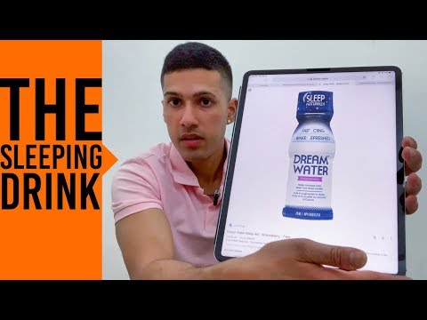Dream Water, The Sleeping Drink My Personal Experience