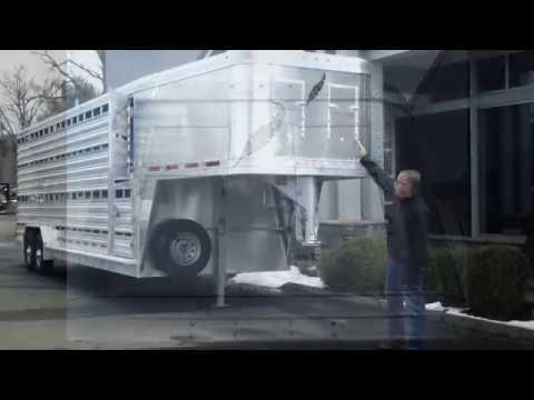 Featherlite Gooseneck Livestock Trailer with Double Deck