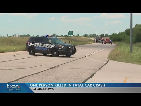 Deadly crash on SH 130 in Georgetown closes southbound lanes