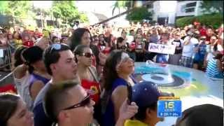 "Victor Manuelle - ""Si Tu Me Besas"" Salsa En Vivo! (Despierta America 7-20-12)"