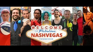NashVegas in Real Life! | 9 Vegas-Style Performers at Iconic Nashville Spots! - in 4K!