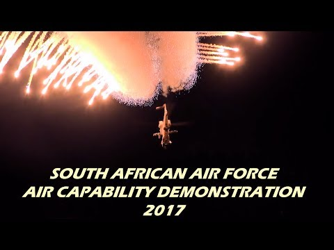 South African Air Force Capability Demo 2017