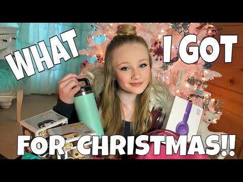 Christmas Haul What I Got for Christmas W Princess Ella