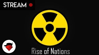 Conquering Nations With Nukes Flying Sometimes (ROZAR Gamenight) | Rise Of Nations [ROBLOX]