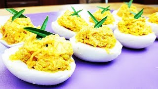 Вот это я понимаю закуска из яиц! СУПЕР