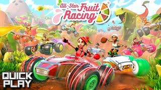 All Star Fruit Racing! Coco Cup Gameplay! (Quick Play)