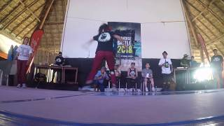 bgirl K-ROSE AND bgirl GRAPE  2 VS 2 PARADISE BATTLE MEXICO 2018 FILTRO