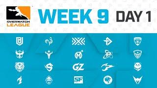 Overwatch League 2020 Season   Week 9 Day 1