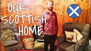 SCOTTISH HIGHLANDS GETAWAY LOG CABIN TOUR