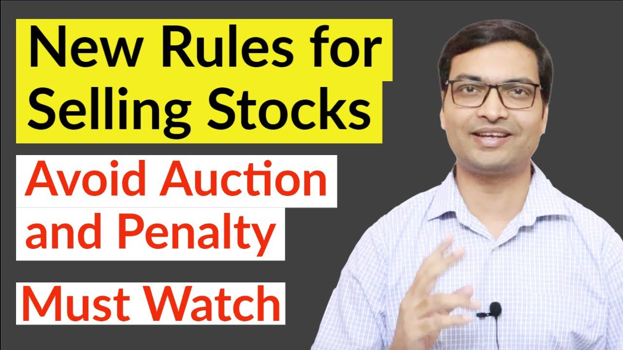 New Rules for Selling Stocks