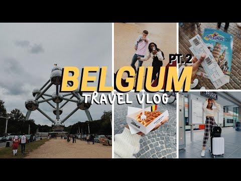 From BRUSSELS To BRUGES, Belgium | TRAVEL VLOG (2019) - PT 2