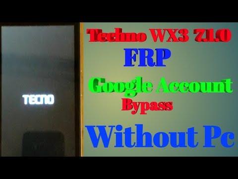 WX3P GOOGLE LOCK / FRP BYPASS