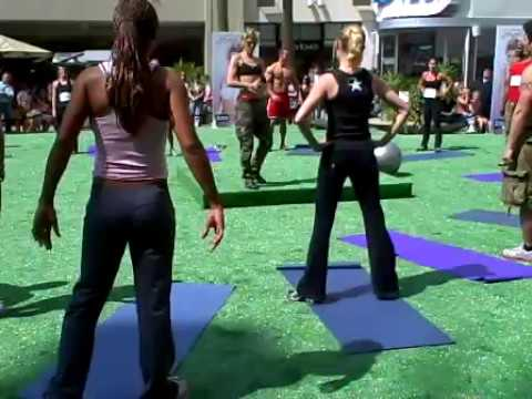 Jackie Warner Workout | Live Lose Belly Fat Fast Workout!