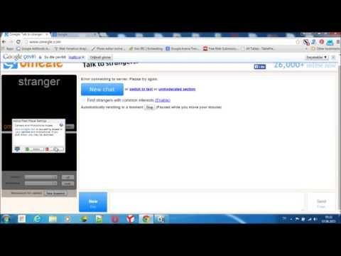 Omegle video proxy