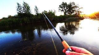 Риболовля на мікро річці ловля щуки і окуня ТАКУ Я НЕ ОЧІКУВАВ ЗЛОВИТИ ТУТ
