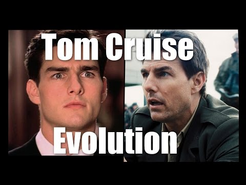 Tom Cruise Evolution (1981-2016)