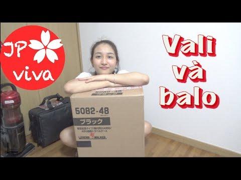 [JP viva] Review vali + balo