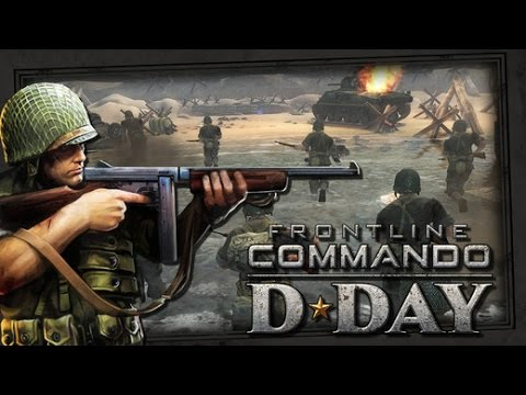 Frontline Commando: D-Day By Glu Games Inc. ( IOS ) Gameplay
