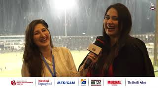 Writer and Anchor Ayesha Jahanzeb is supporting Lahore Qalandars #DilSe